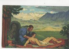Switzerland 1917 Bundesfeier Postcard 258b