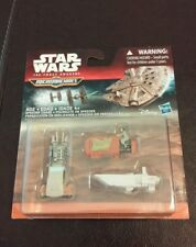 New 2015 Star Wars The Force Awakens Micro Machines Speeder Chase 3-Pack Hasbro