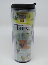 2003 STARBUCKS TAIPEI TAIWAN TUMBLER 12oz(355ml) SLIM NWT COLLECTORS CONDITION
