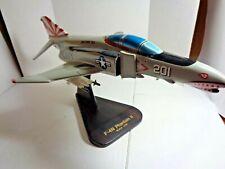 U.S. Navy F-4N Phantom II Desk Model Airplane 1/48 Scale By Toy's and Model Corp