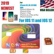 2019 NEW Unlock SIM Card for iPhone XS X iPhone 8 8 Plus iPhone 7 6 5 5s ios 12