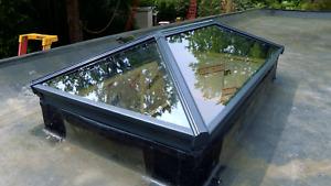 Korniche Aluminium Glass Roof Lantern Skypod Skylight ***FREE DELIVERY***