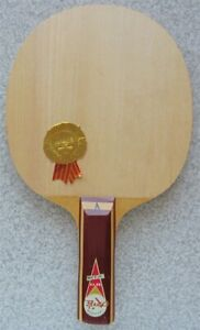 "VINTAGE FRIENDSHIP DART 5 PLY SHAKEHAND NO: ""A"" TABLE TENNIS RACKET BLADE MIB"