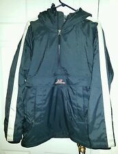 Mens Abercrombie Fitch Performance Blue Insulated Coat Jacket Small Hooded
