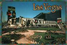MGM Grand Hotel and Casino, Las Vegas, Nevada, The Strip, Escalators - Postcard