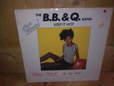 "THE B.B. & Q. BAND keep it hot 12"" MAXI 45T"