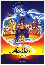 Disney Aladdin fea Robin Williams Original Movie Poster size 18.5 x 27