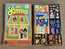 Rare The Littles Colorforms Play Set Vintage 1980 Mattel Unused Htf