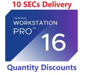 VMware Workstation Pro 16  Quantity Discounts Delivery  15 Sec