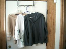 LADIES SWEATERS - 2X AND 1X - TOTAL OF 3