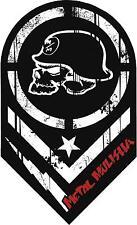 METAL MULISHA DECAL PAIR #29  Sticker, Truck Trailer Moto Car Window Wall Art