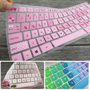 Rainbow Keyboard Cover Skin Case Silicone For Hp Pavilion 14Inch Laptop L1A1