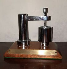 More details for chromed metal (brass)  scale model of an industrial catering mixer bakery