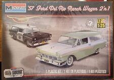 Revell 1/25 '57 Ford Del Rio Ranch Wagon 2 'n 1 Plastic Model Kit 85-4193