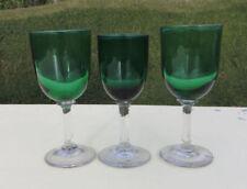Hand Blown Antique Original Art Glassware Date-Lined Glass