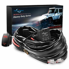 Mictuning HD 12 Gauge 600w LED Light Bar Wiring Harness Kit With 60amp Relay