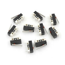 10Pcs 1NO 1NC SPDT Momentary Long Hinge Lever Micro Switches AC 125V 1A NIUS