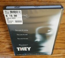 They (DVD, Widescreen) Robert Harmon horror film Marc Blucas Laura Regan NEW
