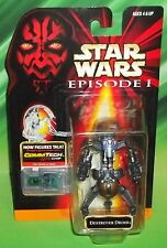 STAR WARS EP1 EPISODE 1 SERIES TRADE FEDERATION DROIDEKA DESTROYER DROID FIGURE