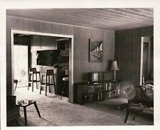 Vintage Old Photo 1970's Home Decor Fold Out Stereo Strange Light Orb Furniture