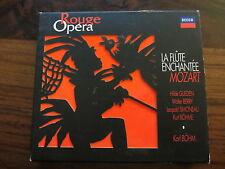 MOZART  LA FLUTE ENCHANTEE - KARL BOHM    -- ROUGE OPERA    /    DECCA   - 2  CD