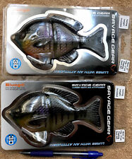 Savage Gear Lot Of 2-6� Floating Dark Bluegill 3 2/3oz, Mimics A Dead Bluegill