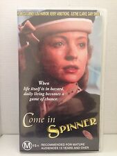 COME IN SPINNER ~ REBECCA GIBNEY, KERRY ARMSTRONG, GARY SWEET ~ 2 x VHS VIDEOS