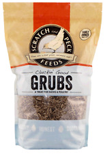 Scratch and Peck Feeds® Cluckin' Good Grubs Treats for Chickens and Ducks 20oz
