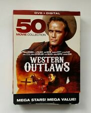 Western Outlaws: 50 Movie Collection (DVD, 2016, 10-Disc Set)
