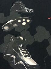 Nike T Shirt Air Jordan Sneakers Jump Man Laces Men Size XXL Black Vintage