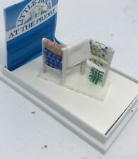Dolls House Miniature 1/48th (quarter inch) scale - Handmade Clothes Airer