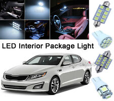 Xenon White LED Interior 10PCS Lights Package for Dodge RAM 1500 2500 2002-2010