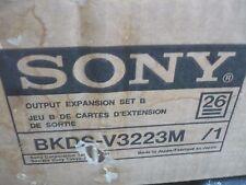 New Sony BKDS-V3223M 1-673-826-12 IPM-88 1-673-828-12 Output Expansion Kit