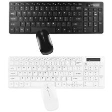 2.4GHz Wireless Nano USB 95-Key Multimedia Keyboard & 3-button Optical Mouse kit
