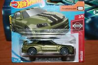 NISSAN - SKYLINE GT-R (BNR34) - SERIE NISSAN - HOT WHEELS - SCALA 1/64