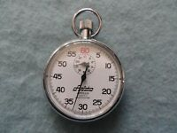 Vintage Swiss Made 7 Jewels Aristo Apollo Shock Resistant Stop Watch Stopwatch