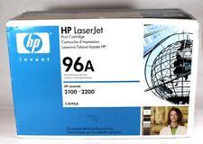 HP 96A Black Genuine LaserJet Toner Cartridge C4096A  2100.2200
