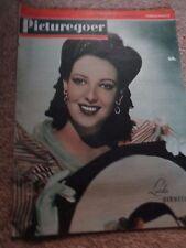 Vintage Picturegoer magazine  Aug 5th 1944 Linda Darnell