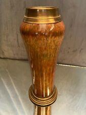 Vase en porcelaine signée Sèvres sur monture bronze