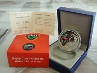 10 euro BE France 2012 argent -  RUGBY CLUB TOULONNAIS TRES RARE !!!!