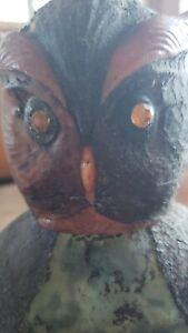 1960s Italian owl wine Bottle