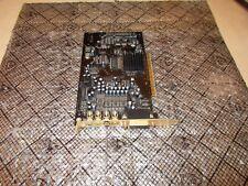 Dell Creative Sound Blaster X-Fi SB0460 7.1 24bit PCI Sound Card 0F7710