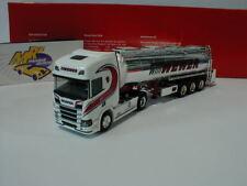 "Herpa 308427 - Scania CS HD Chromtank - Sattelzug "" Willi Wewer Spedition "" 1:87"