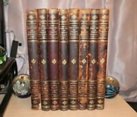 Great Men and Famous Women 1894 Selmar Hess 1st Edition 8 Volume Complete SET