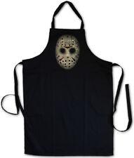 HOCKEY MASK GRILLSCHÜRZE KOCHSCHÜRZE Freitag The Friday Jason 13th der 13. Maske