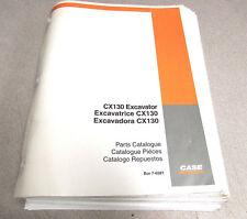 Case CX130 Excavator Parts Catalog Manual 7-6581 2002