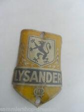 25167 impuesto cabeza escudo Escudo Signet 6x4cm Lysander bicicleta Bicycle Alu