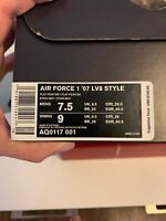 Nike Air Force 1 '07 LV8 Style Size 7.5 Mens