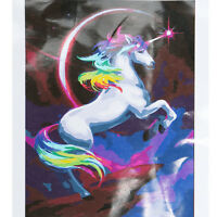 Rainbow Unicorn Paint By Number Kit DIY Digital Oil Painting Canvas Home Decor
