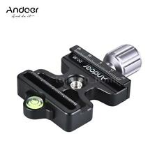 Pro Quick Release Clamp Slide Plate Adapter System for Arca Swiss Manfrotto N3D8